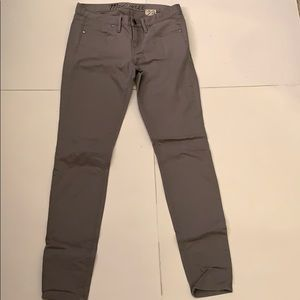 Madewell Skinny Gray Jeans